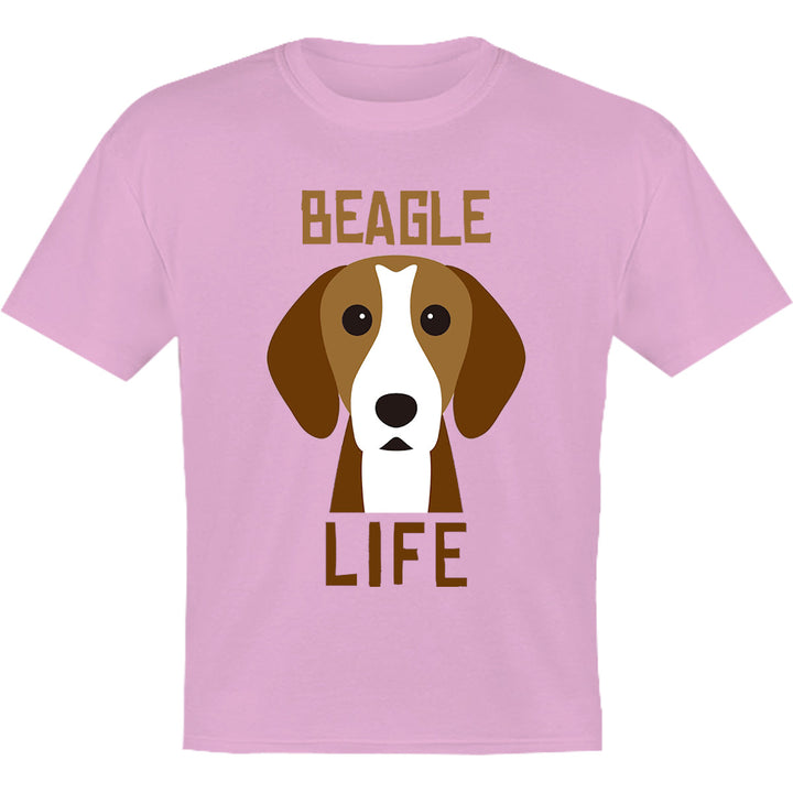 Beagle Life - Youth & Infant Tee - Graphic Tees Australia