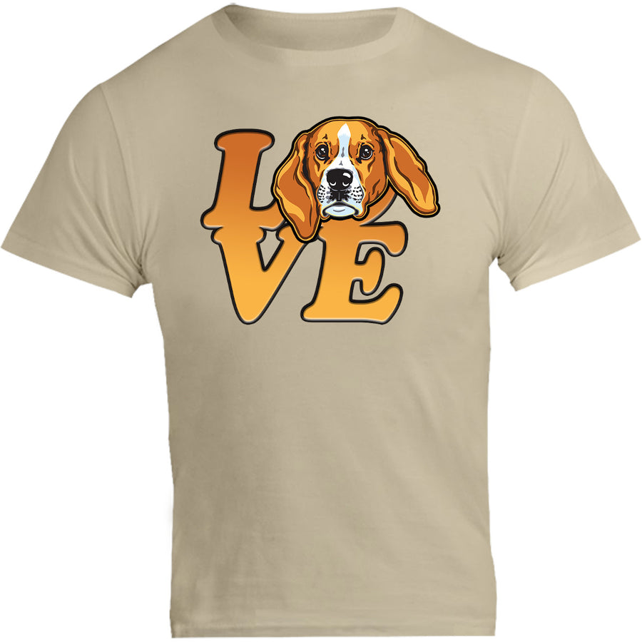 Beagle Love - Unisex Tee - Graphic Tees Australia