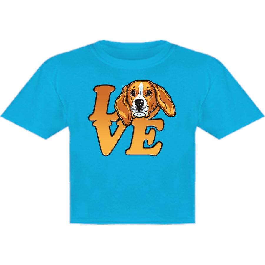 Beagle Love - Youth & Infant Tee - Graphic Tees Australia