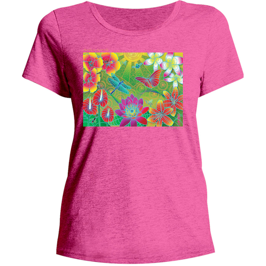 Beauty in Diversity - Ladies Relaxed Fit Tee - Graphic Tees Australia