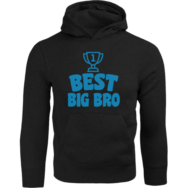 Best Big Bro - Adult & Youth Hoodie - Graphic Tees Australia