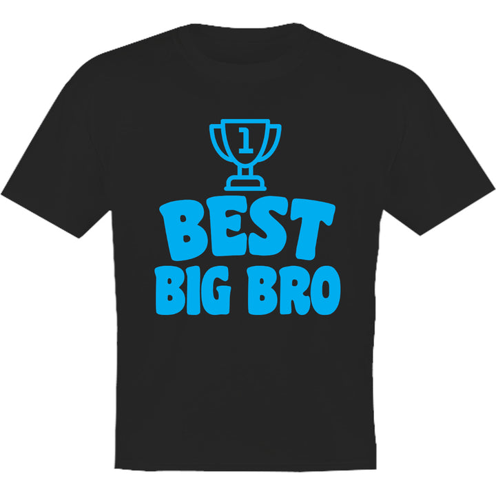 Best Big Bro - Youth & Infant Tee - Graphic Tees Australia