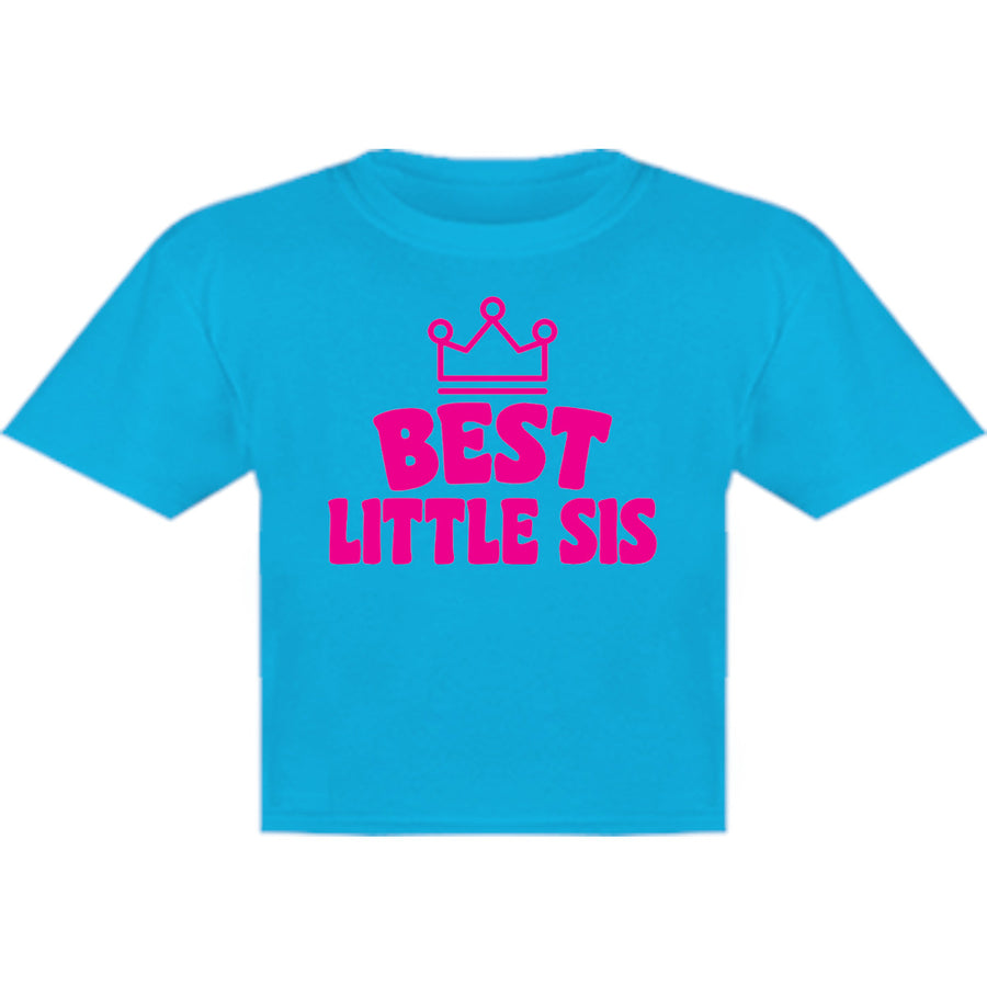Best Little Sis - Youth & Infant Tee - Graphic Tees Australia