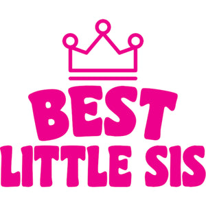 Best Little Sis - Adult & Youth Hoodie - Graphic Tees Australia