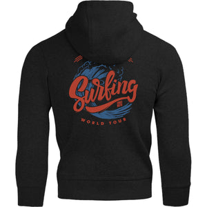 Big Wave Surfing - Adult & Youth Hoodie - Graphic Tees Australia