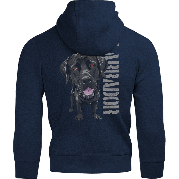 Black Labrador - Adult & Youth Hoodie - Graphic Tees Australia