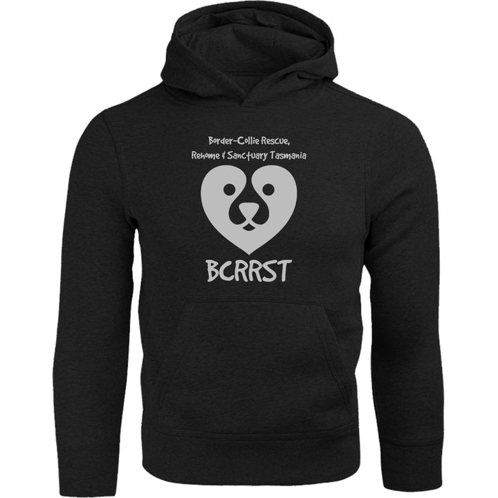 Border-Collie Rescue, Rehome & Sanctuary Tasmania - Adult & Youth Hoodie - Graphic Tees Australia