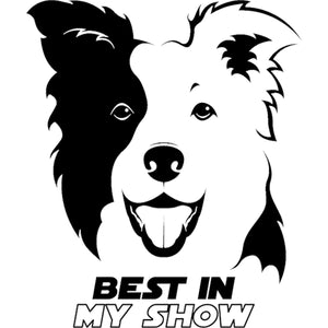 Border Collie Best In Show - Ladies Relaxed Fit Tee - Graphic Tees Australia
