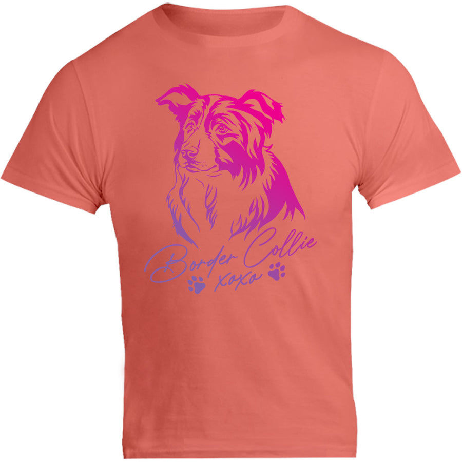Border Collie XOXO - Unisex Tee - Graphic Tees Australia