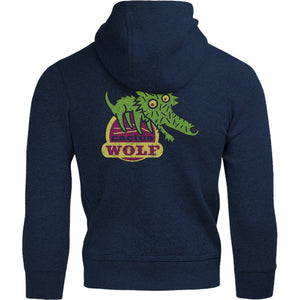 Cactus Wolf - Adult & Youth Hoodie - Graphic Tees Australia