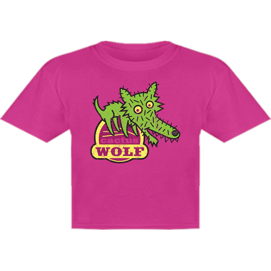 Cactus Wolf - Youth & Infant Tee - Graphic Tees Australia