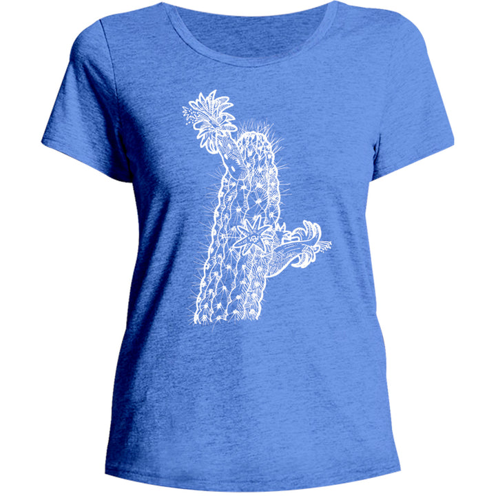 Cactus - Ladies Relaxed Fit Tee - Graphic Tees Australia