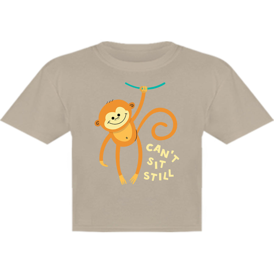 Can't Sit Still - Youth & Infant Cotton Tee - Graphic Tees Australia