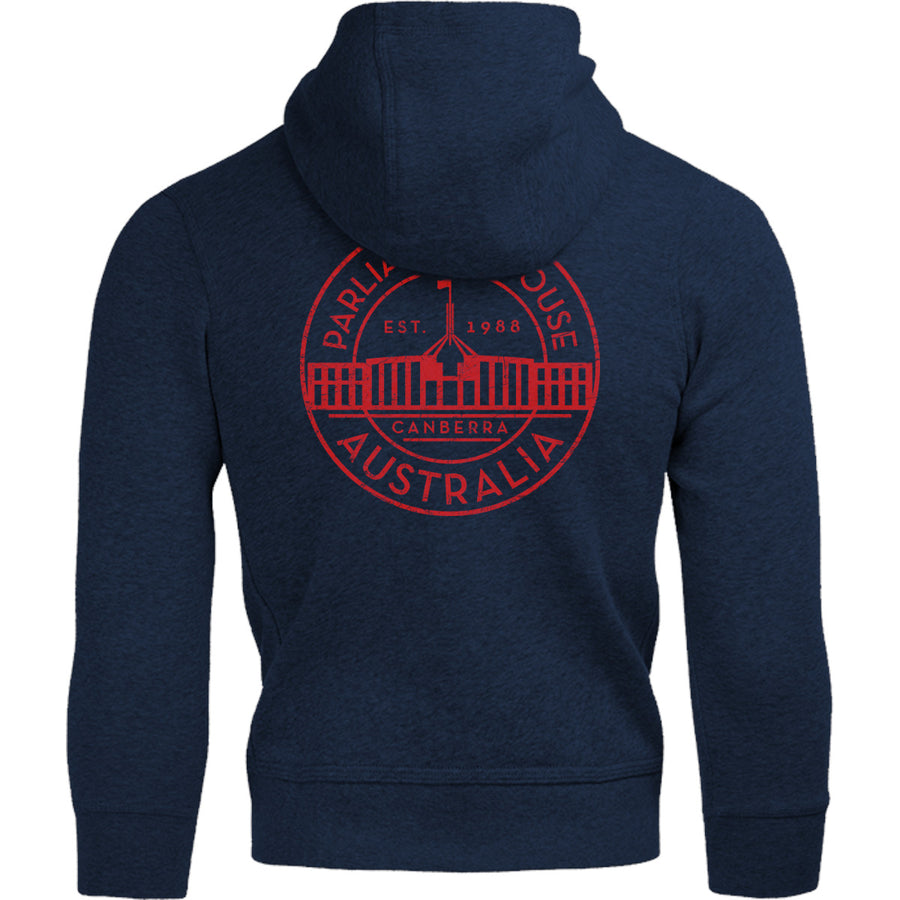 Canberra Australia Varsity Circle - Adult & Youth Hoodie - Graphic Tees Australia