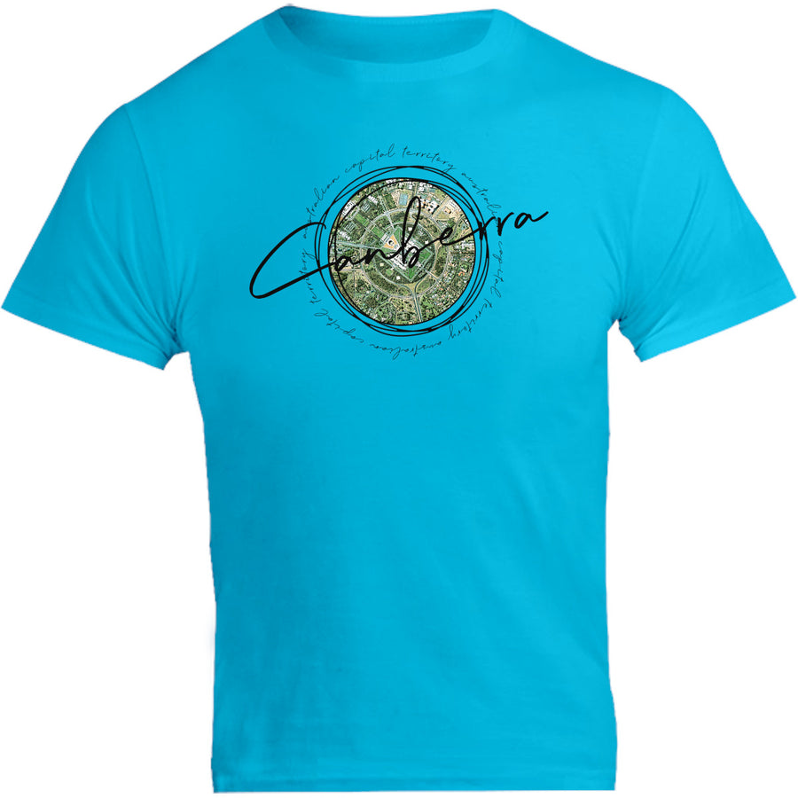 Canberra Circle Sketch - Unisex Tee - Graphic Tees Australia