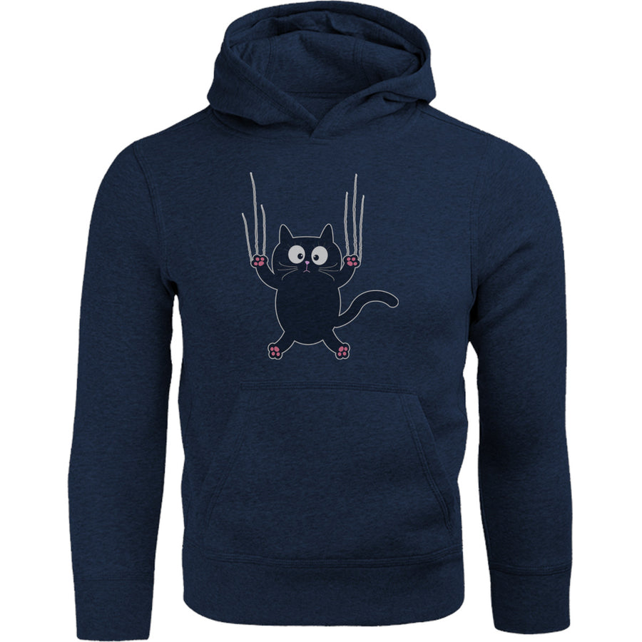 Cat Claw Scratch - Adult & Youth Hoodie - Graphic Tees Australia