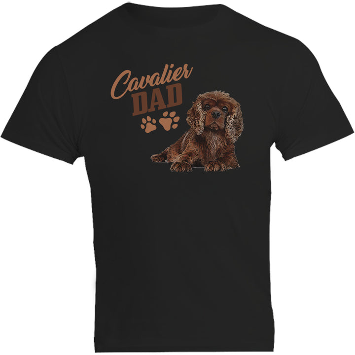 Cavalier Dad - Unisex Tee - Plus Size - Graphic Tees Australia