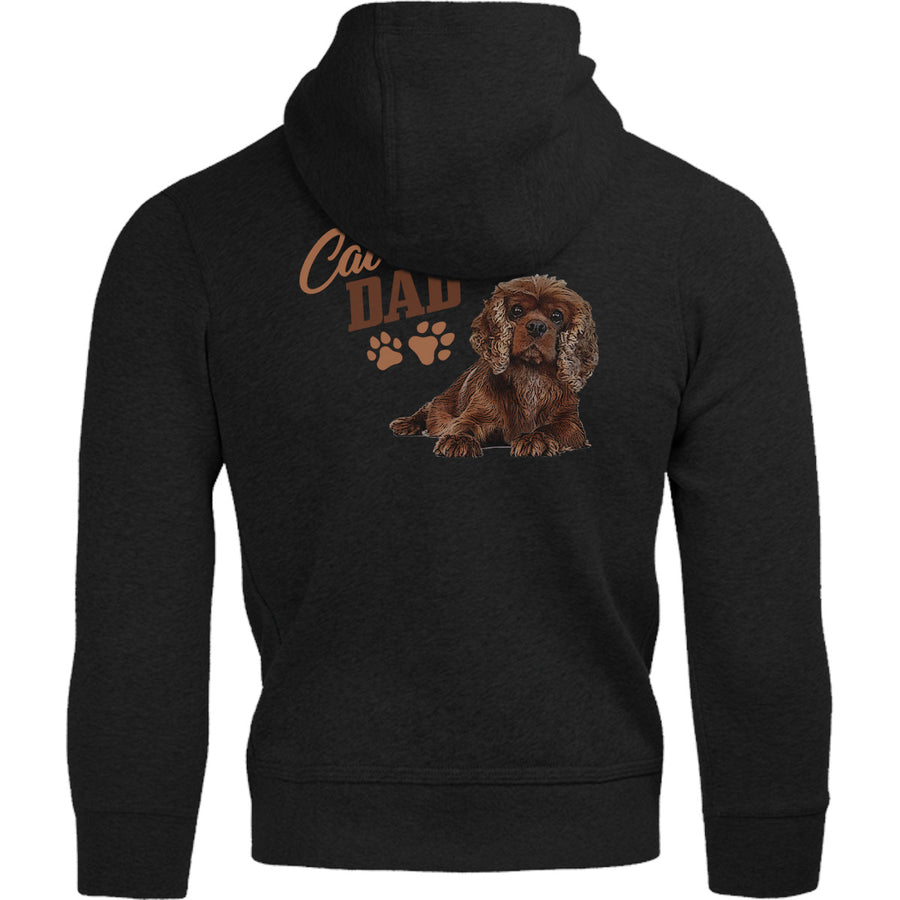 Cavalier Dad - Adult & Youth Hoodie - Graphic Tees Australia