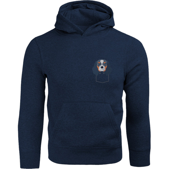 Cavalier In Pocket - Adult & Youth Hoodie - Graphic Tees Australia