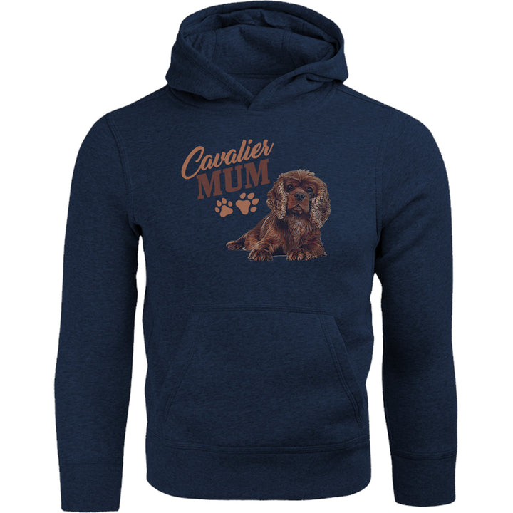 Cavalier Mum - Adult & Youth Hoodie - Graphic Tees Australia