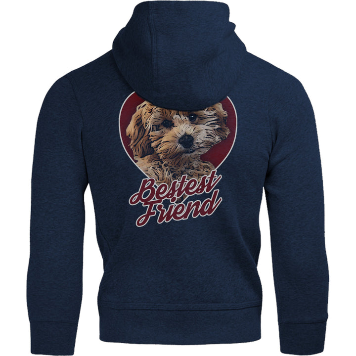 Cavoodle Bestest Friend - Adult & Youth Hoodie - Graphic Tees Australia
