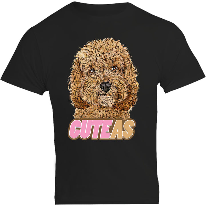 Cavoodle Cute As - Unisex Tee - Plus Size - Graphic Tees Australia