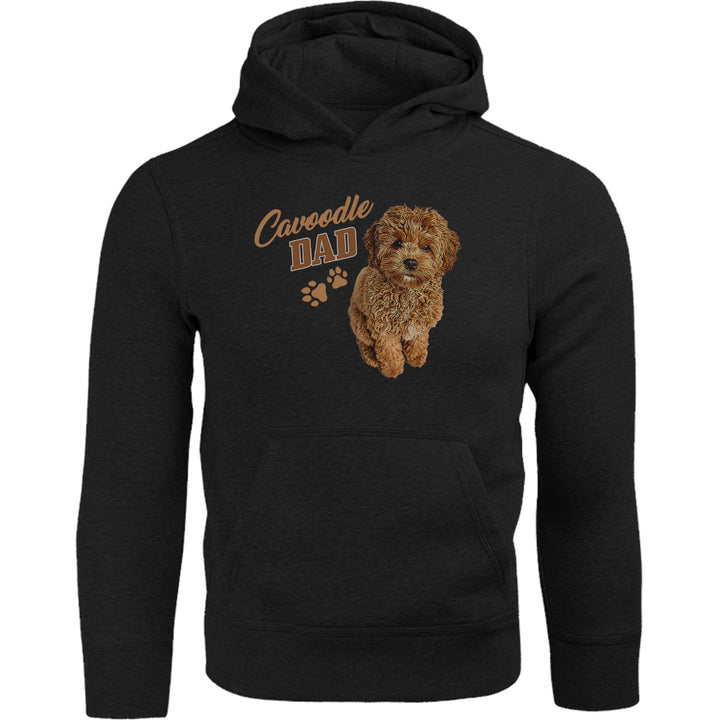 Cavoodle Dad - Adult & Youth Hoodie - Graphic Tees Australia