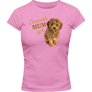 Cavoodle Mum - Ladies Slim Fit Tee - Graphic Tees Australia