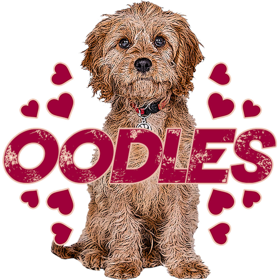 Cavoodle Oodles - Adult & Youth Hoodie - Graphic Tees Australia