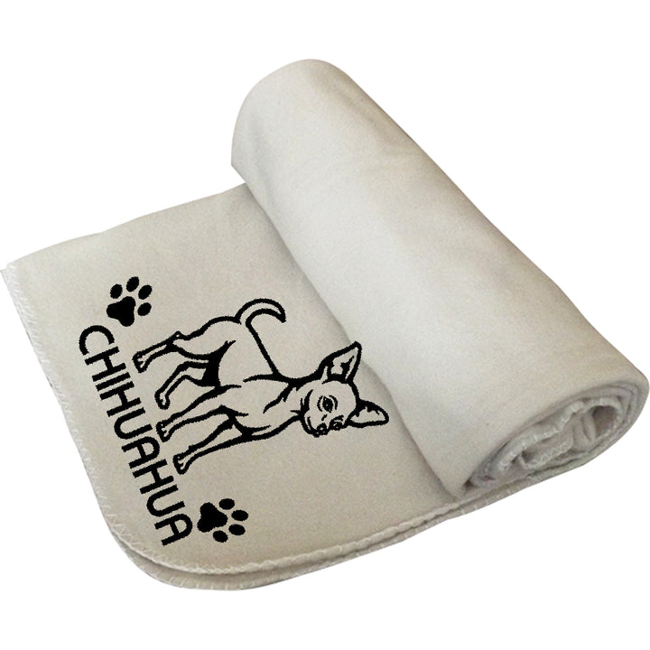 Chihuahua - Polar Fleece Blanket - Graphic Tees Australia