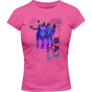 Collage 9 - Ladies Slim Fit Tee - Graphic Tees Australia