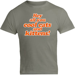 Cool Cats and Kittens Carol Baskin - Unisex Tee - Graphic Tees Australia