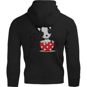 Cup Of Chi huahua - Adult & Youth Hoodie - Graphic Tees Australia