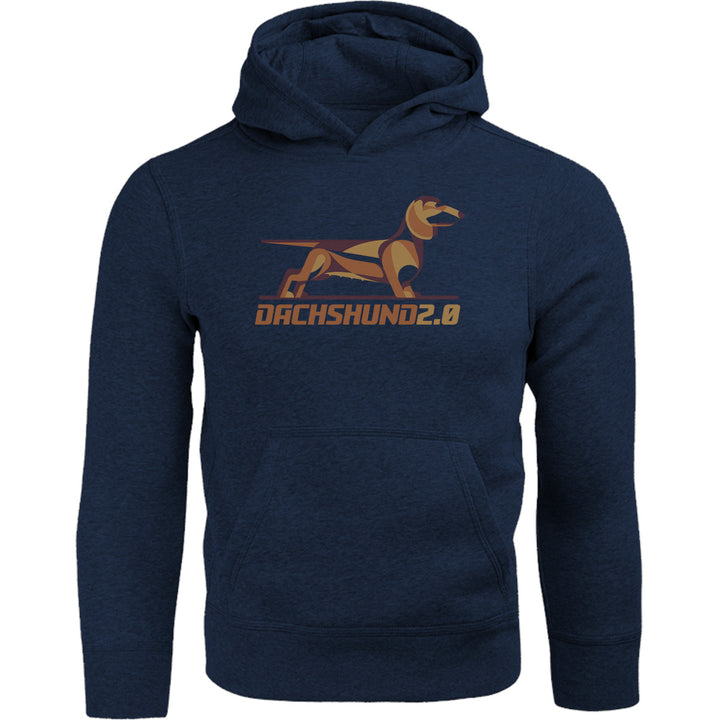 Dachshund 2.0 - Adult & Youth Hoodie - Graphic Tees Australia