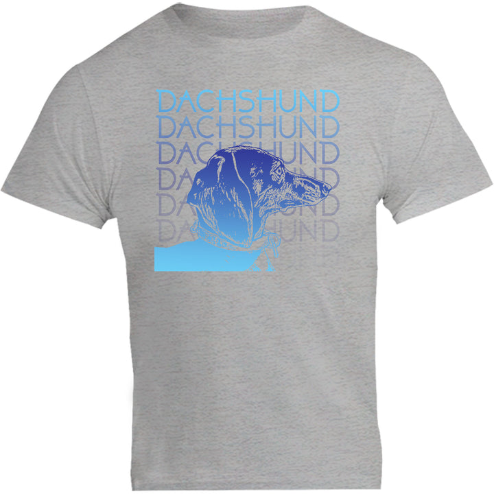Dachshund Blues - Unisex Tee - Graphic Tees Australia