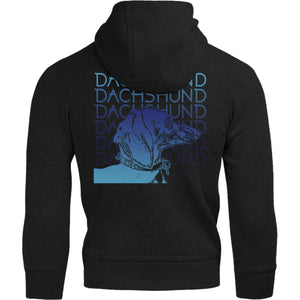 Dachshund Blues - Adult & Youth Hoodie - Graphic Tees Australia