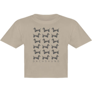 Dachshund Multi - Youth & Infant Tee - Graphic Tees Australia