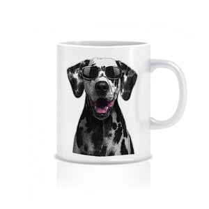 Dalmatian Cool As - Ceramic Mug - Graphic Tees Australia