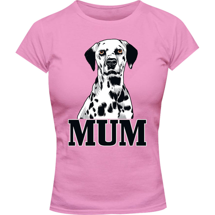 Dalmatian Mum - Ladies Slim Fit Tee - Graphic Tees Australia