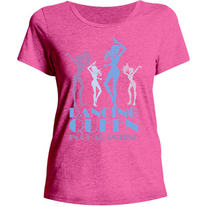 Dancing Queen Quarantine - Ladies Relaxed Fit Tee - Graphic Tees Australia