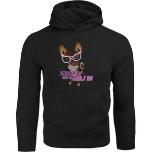 Diamonds Are A Girls BF - Adult & Youth Hoodie - Graphic Tees Australia