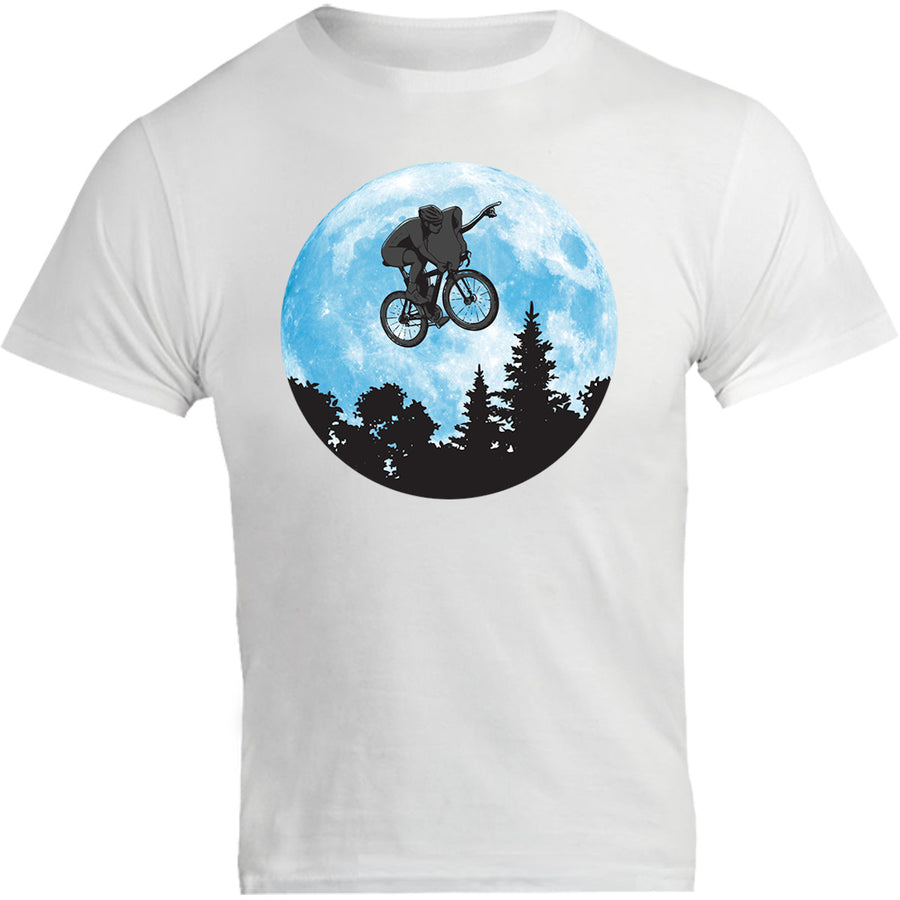 E.T. Flying Bike Ride - Unisex Tee - Graphic Tees Australia