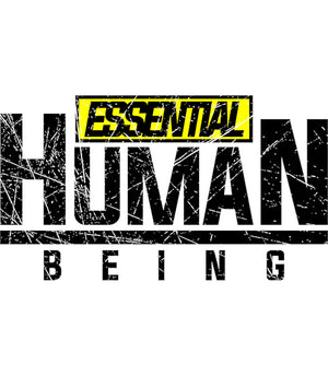 Essential Human Being - Adult & Youth Hoodie - Graphic Tees Australia