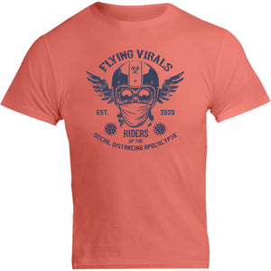 Flying Virals - Unisex Tee - Graphic Tees Australia