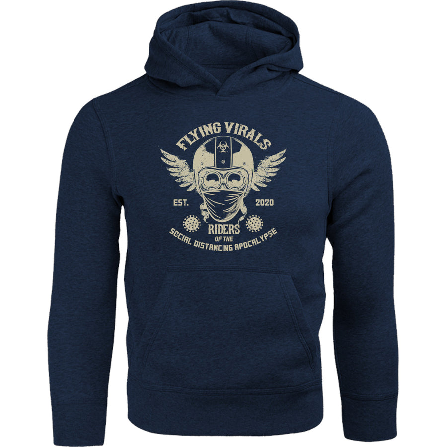 Flying Virals - Adult & Youth Hoodie - Graphic Tees Australia