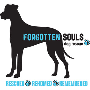 Forgotten Souls Dog Rescue front & back - Youth & Infant Tee - Graphic Tees Australia