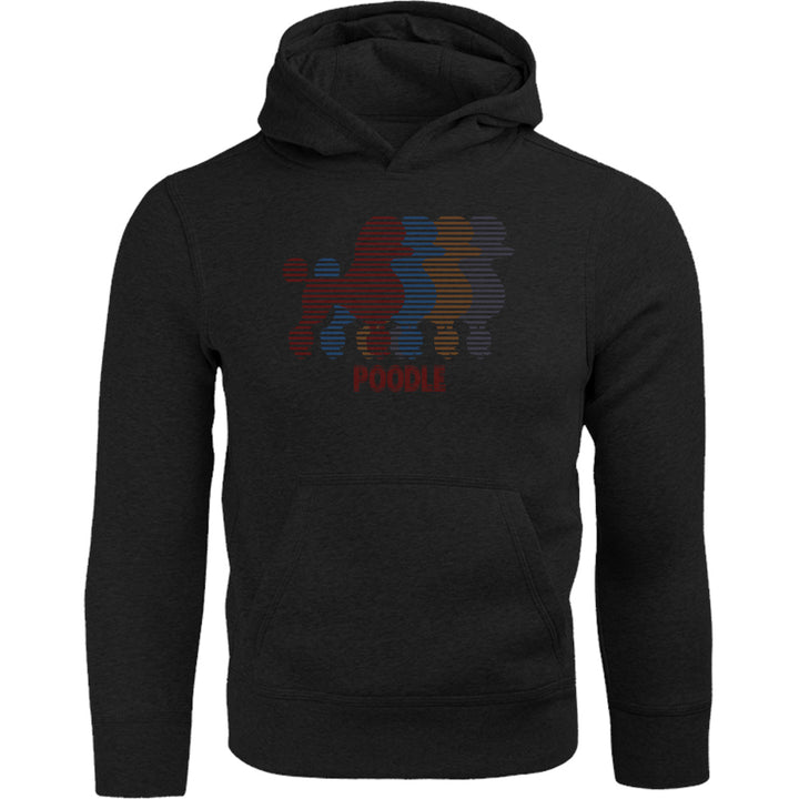 Four Poodles - Adult & Youth Hoodie - Graphic Tees Australia