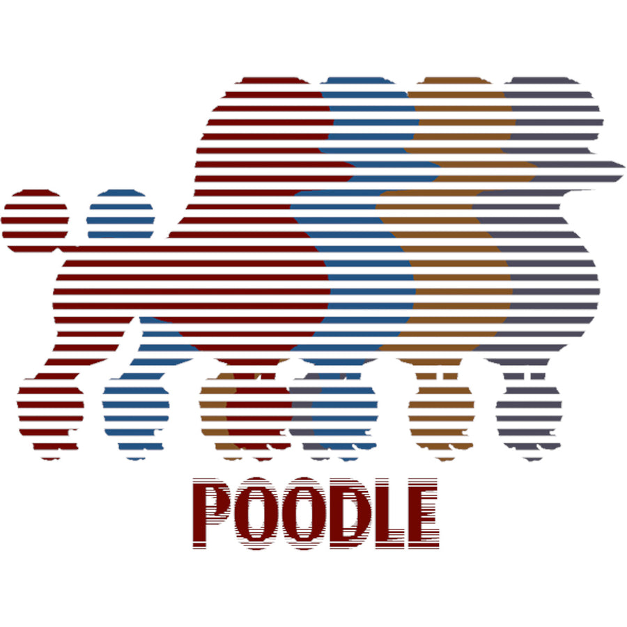 Four Poodles - Unisex Tee - Graphic Tees Australia