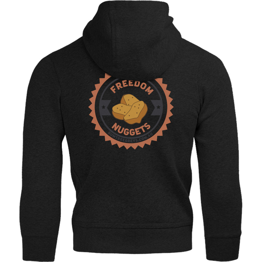 Freedom Nuggets front & back - Adult & Youth Hoodie