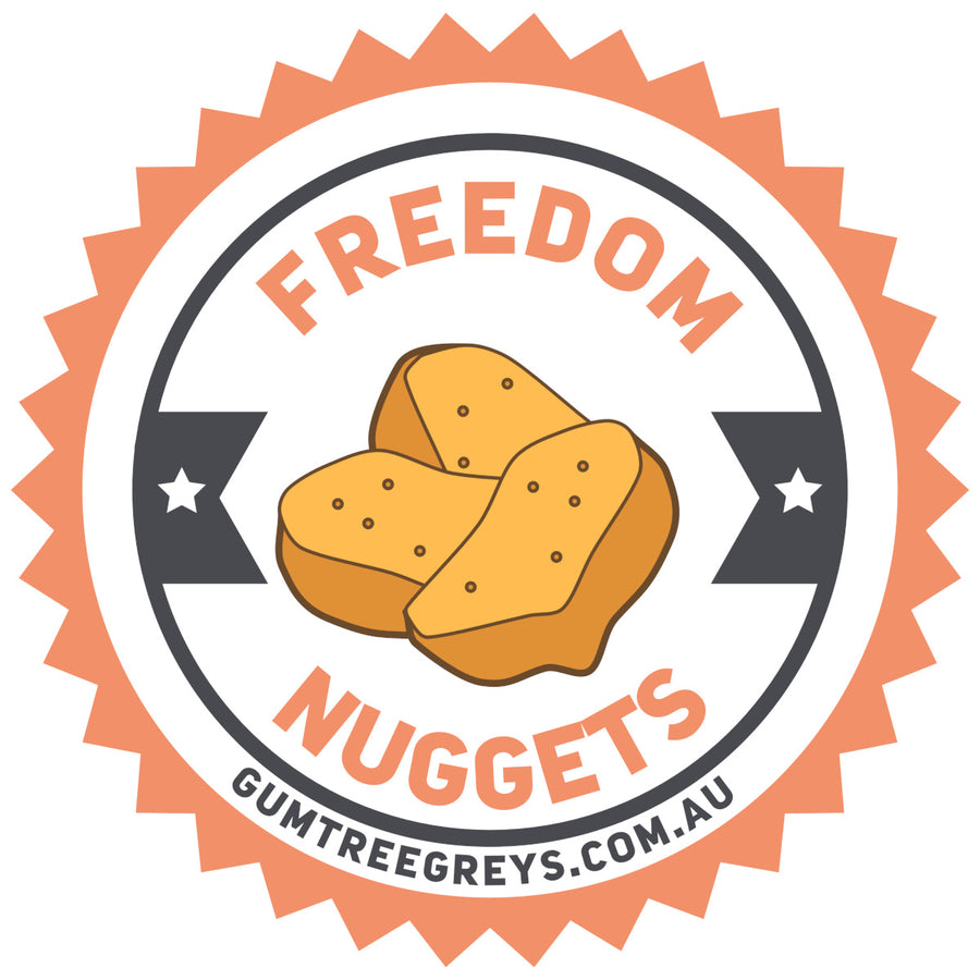 Freedom Nuggets front & back - Unisex Tee - Plus Size
